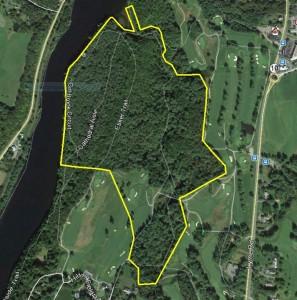 Google Maps aerial photo of Pine Park area