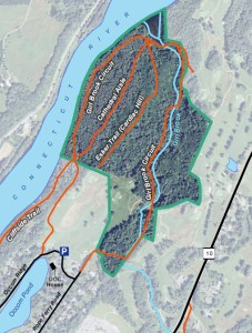 Pine Park trail map