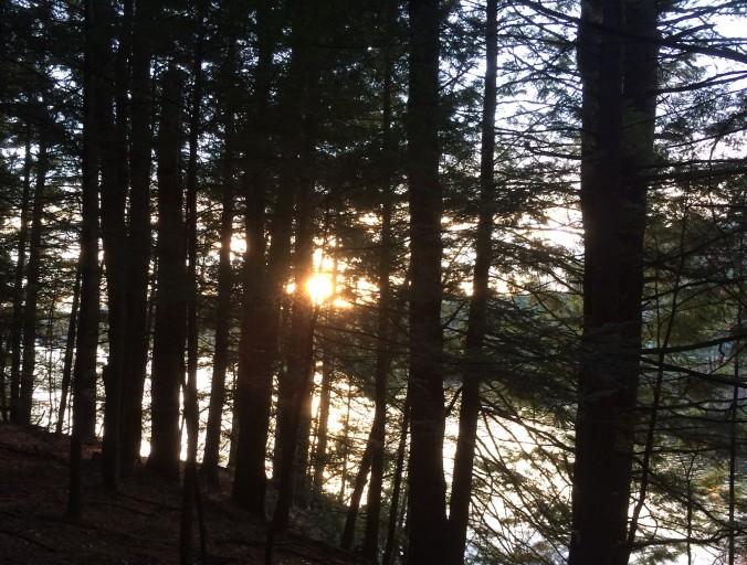 Sunset along the Connecticut