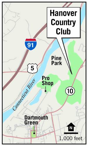map of proposed golf club